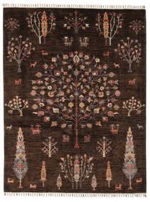 Mamluk 絨毯 158X205 モダン 手織り 黒/濃い茶色 (ウール, アフガニスタン)