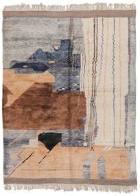 Berber Moroccan - Mid Atlas 絨毯 253X321 モダン 手織り 茶/濃いグレー 大きな (ウール, モロッコ)