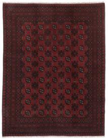 アフガン 絨毯 146X188 オリエンタル 手織り 黒 (ウール, アフガニスタン)