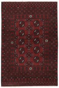 アフガン 絨毯 100X150 オリエンタル 手織り 黒 (ウール, アフガニスタン)
