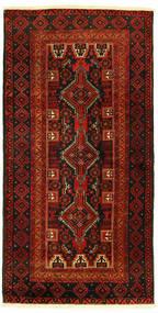 バルーチ 絨毯 96X193 オリエンタル 手織り (ウール, ペルシャ/イラン)