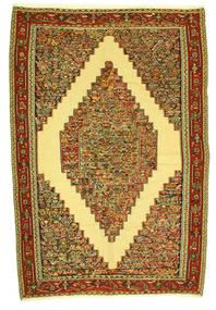 キリム センネ 絨毯 198X292 オリエンタル 手織り (ウール, ペルシャ/イラン)