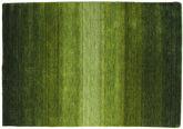 ギャッベ Rainbow - グリーン