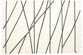 Cross Lines - オフホワイト / 黒